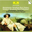 "Felix Mendelssohn / Franz Schubert / Giuseppe Sinopoli / The Philharmonia Orchestra - Schubert: symphony no.8 in b minor d759 ""unfinished"" / mendelssohn: symphony no.4 in a major op.90"