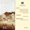 "Josef Krips / Joseph Haydn / The London Symphony Orchestra / Wiener Philharmoniker - Haydn: symphonies 92,94,99,104; schubert: symphony no.6; mendelssohn: symphony no.4 ""italian"""