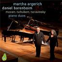 Daniel Barenboïm / Franz Schubert / Igor Stravinsky / Martha Argerich / W.a. Mozart - Mozart, schubert & stravinsky piano duos