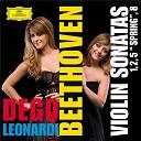 """Francesca Dego / Francesca Leonardi / Ludwig Van Beethoven - Beethoven: Violin Sonatas Nos. 1, 2, 5 """"Spring"""" And 8"""