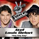 Atef / Louis Delort - Say say say - the voice : la plus belle voix