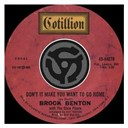 Brook Benton - Don't it make you want to go home / i've gotta be me (digital 45)