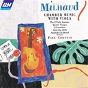 Darius Milhaud / Michel Wagemans / Paul Cortese - Milhaud: chamber music with viola