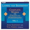 Anssi Karttunen / Tuija Hakkila - Ludwig van beethoven : complete works for cello and fortepiano vol. 1