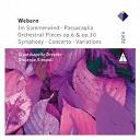 Giuseppe Sinopoli - Webern : im sommerwind, orchestral works & variations