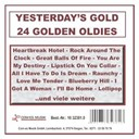 Compilation - Yesterday's gold - 24 golden oldies