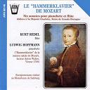 Kurt Redel / Ludwig Hoffmann - Mozart : Six sonates pour pianoforte & flûte