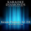 Karaoke Diamonds - Karaoke playbacks, vol. 210 (sing the songs of the stars)