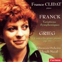 France Clidat / The Philharmonia Orchestra / Zdenek Macal - Grieg : concerto for piano, op. 16 - franck : variations symphoniques