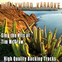 Hollywood Karaoke - Sing the hits of tim mcgraw (karaoke version) (originally performed by tim mcgraw)