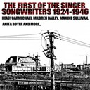 Anita Boyer / Connie Boswell / Duke Ellington / Fletcher Henderson / Frankie Trumbauer / Glen Gray / Hoagy Carmichael / Matty Matlock / Maxine Sullivan / Mildred Bailey / Nat Gonella / Pee Wee Hunt / Ray Hendricks / Red Mckenzie - The first of the singer songwriters 1924 - 1946