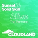 Sunset, Solid Skill - Alive (the remixes)