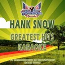 All American Karaoke - Hank snow (greatest hits karaoke) (karaoke version in the style of hank snow)