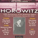 Vladimir Horowitz - 25th anniversary of his american debut (carnegie hall, feb.1953)