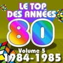 C. Wyllis Orchestra / Pop 80 Orchestra / Pop Soleil Orchestra / The Disco Orchestra / The Romantic Orchestra / The Top Orchestra - Le top des années 80, vol. 5 (1984 / 1985)