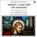Antonio Vivaldi / Les Solistes De Paris Henri-Claude Fantapié Anna Maria Bondi - Antonio vivaldi : 3 motets