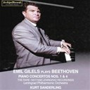 Emil Gilels / Kurt Sanderling / The Leningrad Philharmonic Orchestra - Beethoven : piano concertos no. 1 and no. 4 (the rare 1957-1958 leningrad recordings)