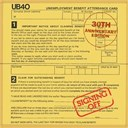 Ub 40 - Signing off