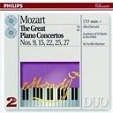 Alfred Brendel / Orchestre Academy Of St. Martin In The Fields / Sir Neville Marriner / W.a. Mozart - Mozart: the great piano concertos nos. 9, 15, 22, 25 & 27