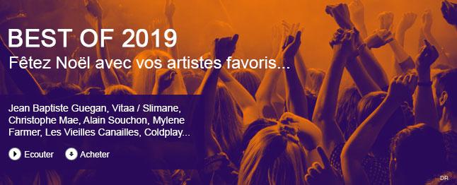 Best of 2019 - fêtez Noël avec vos artistes favoris