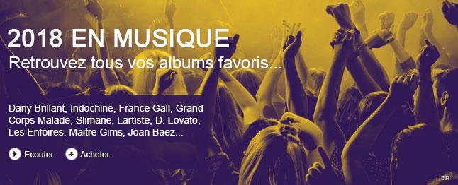Retrouvez tous vos albums favoris
