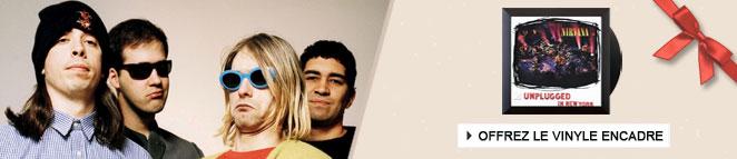 Vinyle encadré de Nirvana
