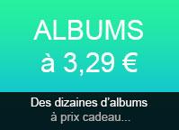Albums à 2,99€