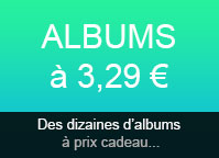 Albums à 3,29€